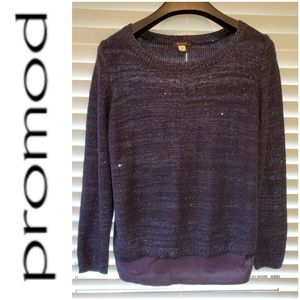💕4 for $25💕Blue Sweater with Sequin